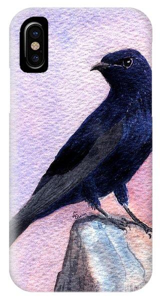 Purple Martin IPhone Case