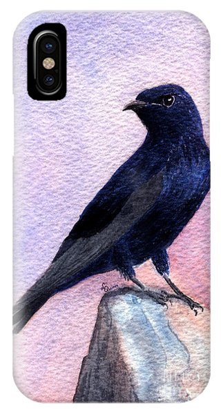 Purple Martin IPhone Case