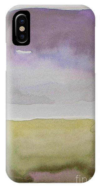 Contemporary Abstract iPhone Case - Purple Morning by Vesna Antic