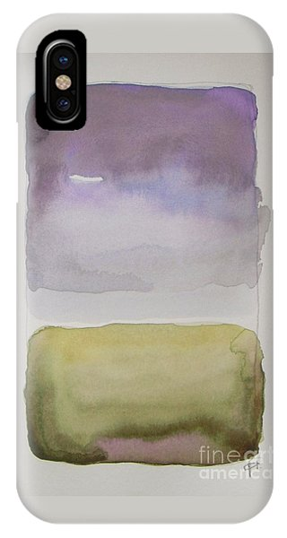 Abstract Landscape iPhone Case - Purple Morning by Vesna Antic