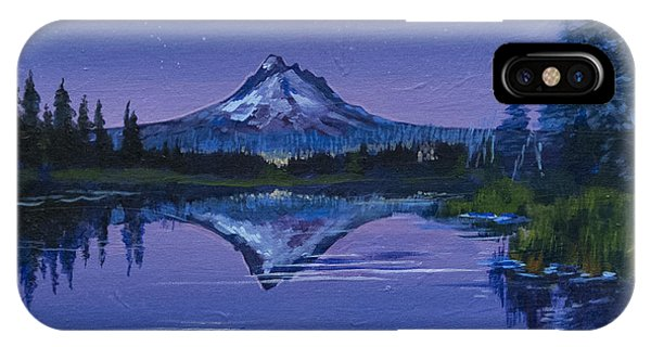 Purple Mountain IPhone Case