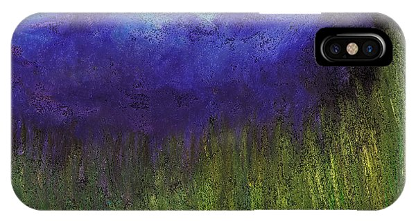 Purple Mountains By Jrr IPhone Case