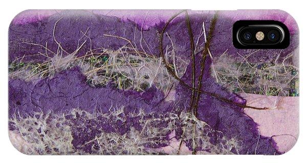 Purple Mountains Phone Case by Pamela Ramey Tatum