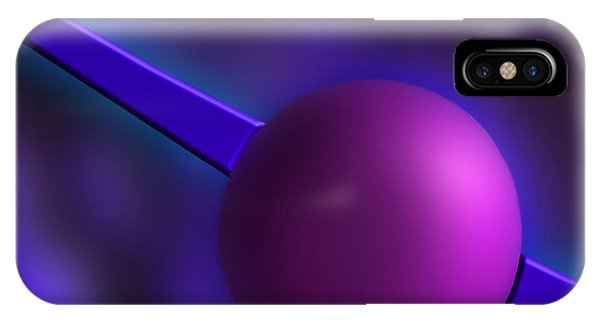Purple Orb IPhone Case
