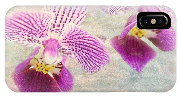 Purple Orchid 2 IPhone Case