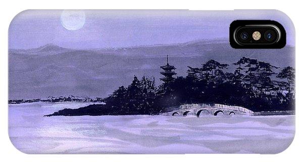 Purple Pagoda IPhone Case