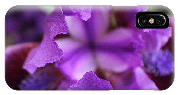 Purple Passion Phone Case by Trent Mallett