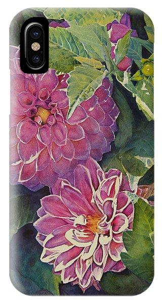 Purple Pinwheels IPhone Case