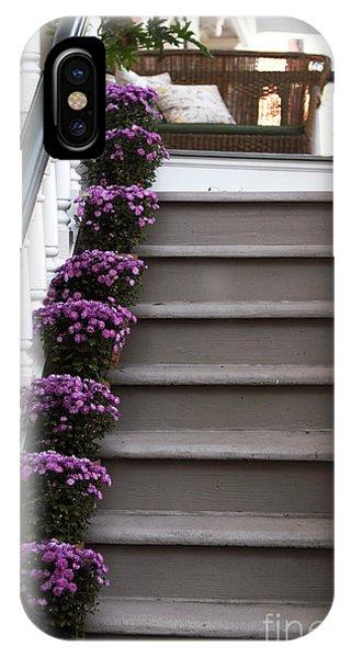 Purple Plants IPhone Case