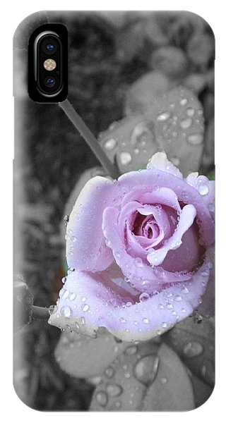 IPhone Case featuring the photograph Purple Rain by Marian Palucci-Lonzetta