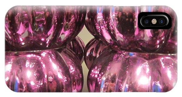 Purple Reflection IPhone Case