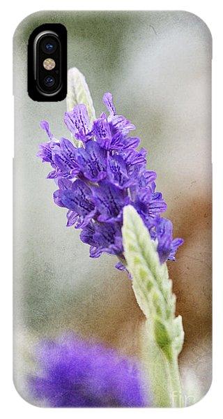 Purple Sage Texture Phone Case by Pamela Gail Torres