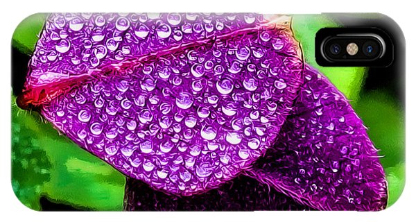 Purple Shimmer IPhone Case