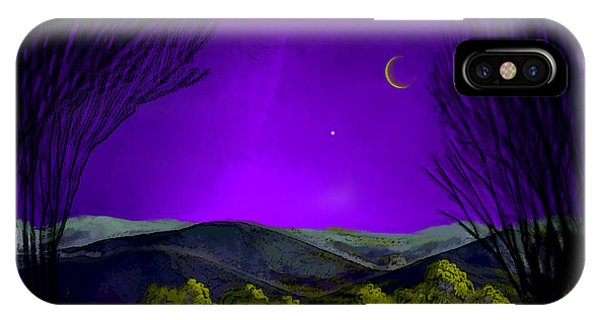 Purple Sky IPhone Case