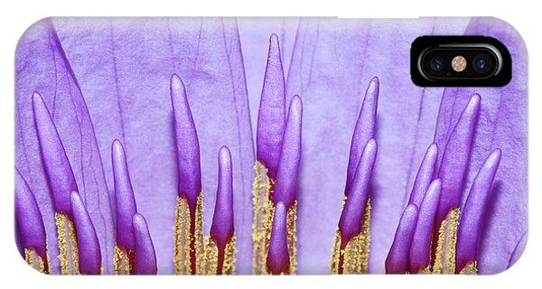 Purple Spires IPhone Case