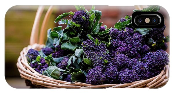 Purple Sprouting Broccoli IPhone Case