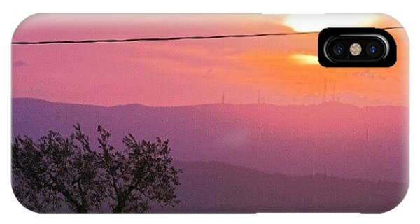 Beautiful Sunrise iPhone Case - Purple Sunset by Emanuela Carratoni
