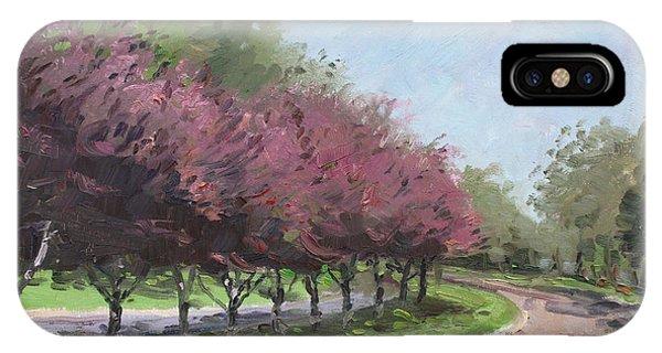 Purple iPhone Case - Purple Trees  by Ylli Haruni
