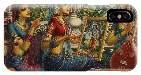 Parrot iPhone Case - Purva Raga by Vrindavan Das