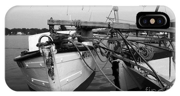 Skipjack iPhone Case - Push Boat by Skip Willits