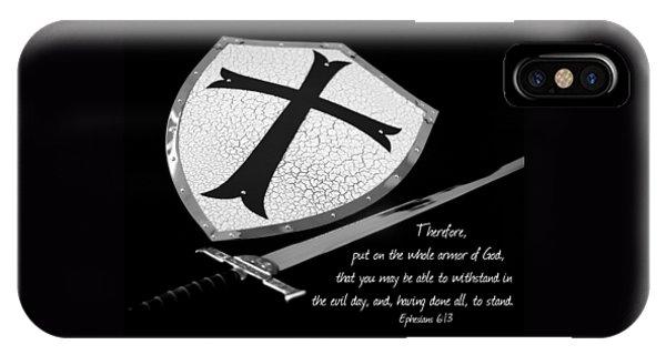 Put On The Armor Ephesians 6 IPhone Case