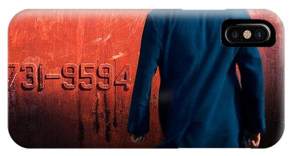 Coat iPhone Case - Puzzle IIi by Mikhail Potapov
