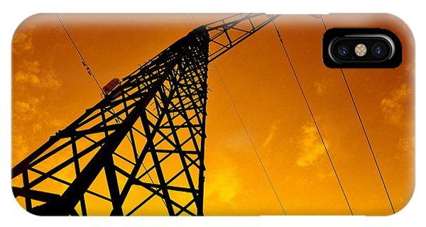 Pylon iPhone Case - Pylon by Daniele Fedi