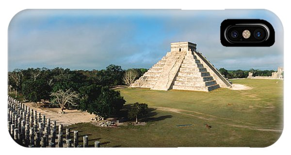 Serpent iPhone Case - Pyramid Chichen Itza Mexico by Panoramic Images