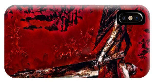 Pyramid Head IPhone Case