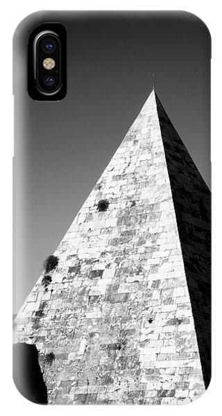 Architecture iPhone Case - Pyramid Of Cestius by Fabrizio Troiani