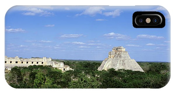 Maya iPhone Case - Pyramid Of The Magician Uxmal, Yucatan by Panoramic Images