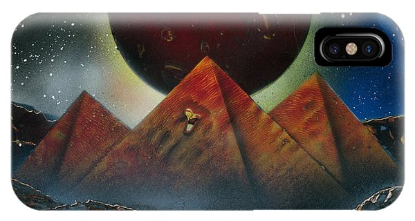 Pyramids 4663 IPhone Case