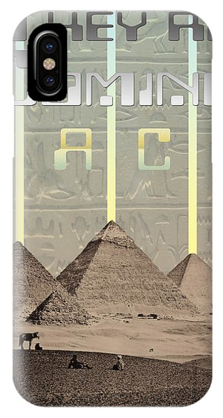 Pyramids Ufo Landing Site Phone Case by