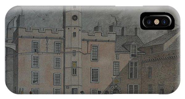 Quadrangle Edinburgh Castle IPhone Case