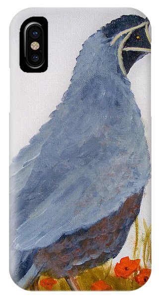 Quail IPhone Case