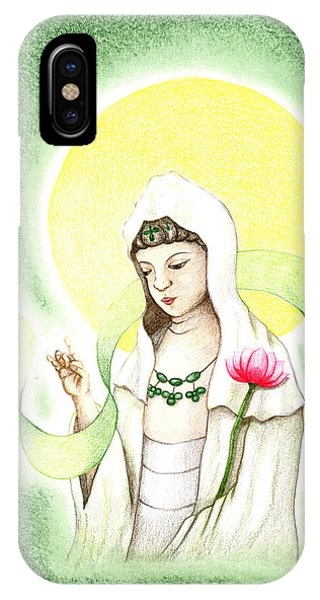 Quan Yin IPhone Case