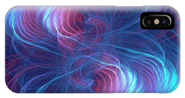 Quantum Entanglement Conceptual Image IPhone Case