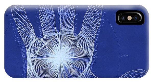 Quantum Hand Through My Eyes IPhone Case