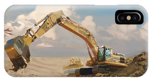 Caterpillar iPhone Case - Quarry Cats by Brad Burns
