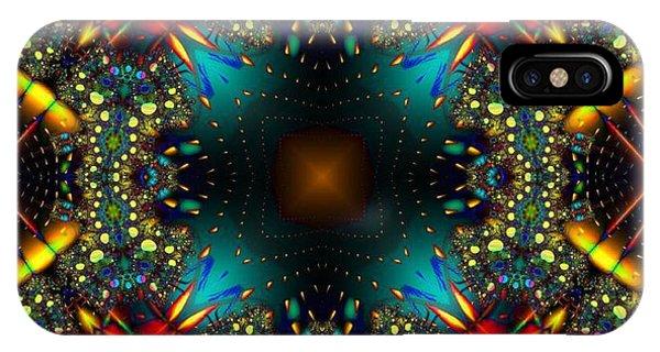 Quasar Kaleidoscope No 1 IPhone Case