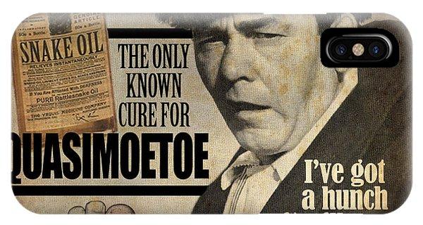 Quasimoetoe Poster IPhone Case