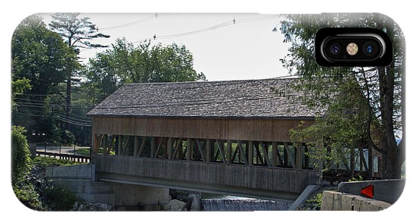 Quechee Covered Bridge IPhone Case