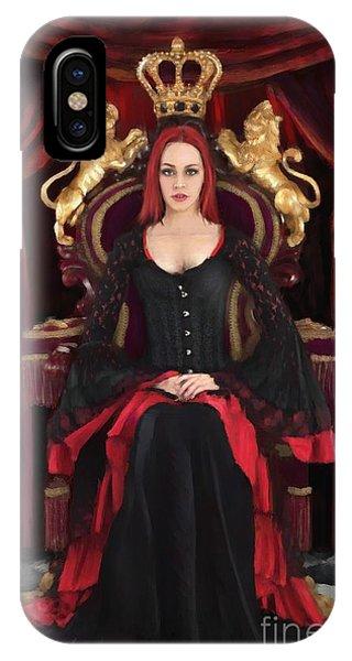 Queen Jess IPhone Case