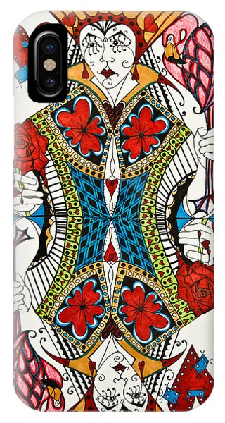Queen Of Hearts - Wip IPhone Case