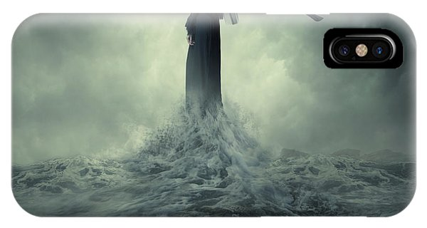 Fairy Tales iPhone Case - Queen Of The Darkness by Hardibudi