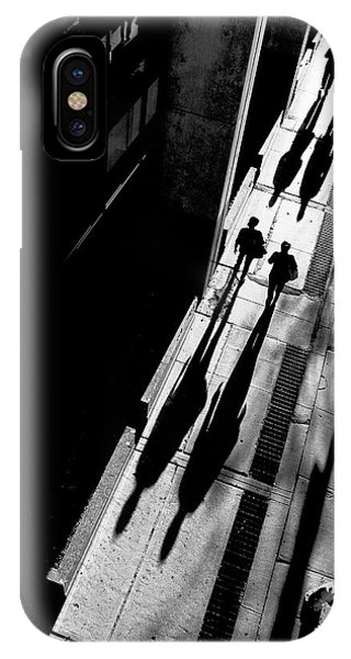 Alley iPhone Case - Queen Street by Jian Wang