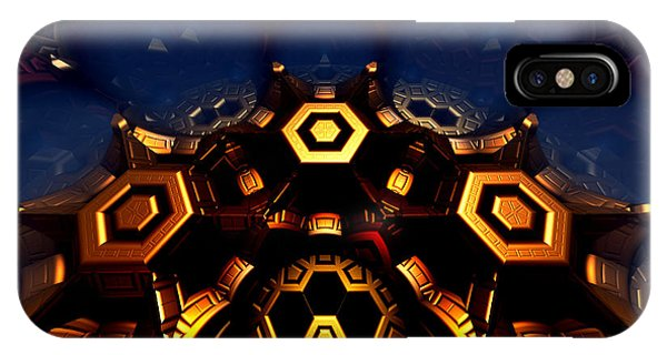 IPhone Case featuring the digital art Queen's Chamber by Jeff Iverson