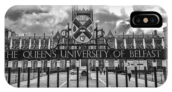 Queens University Belfast IPhone Case