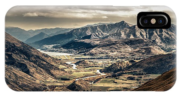 Queenstown View IPhone Case