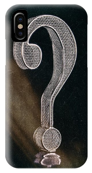 Question Mark IPhone Case
